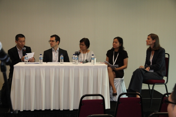 Ms. Dana Doan, LIN's strategic advisor (1st - right), attending a panel discussion at the conference.