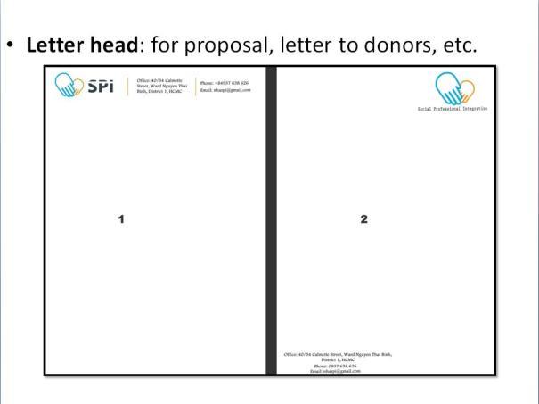SPI letterhead