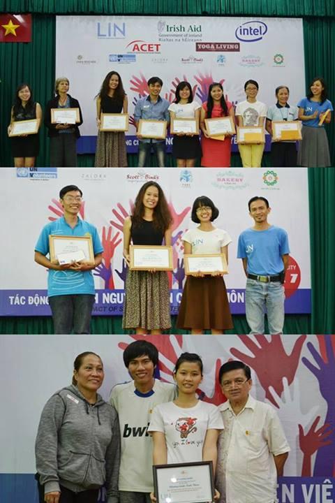 Winners of LIN Volunteer Stories Contest 2013